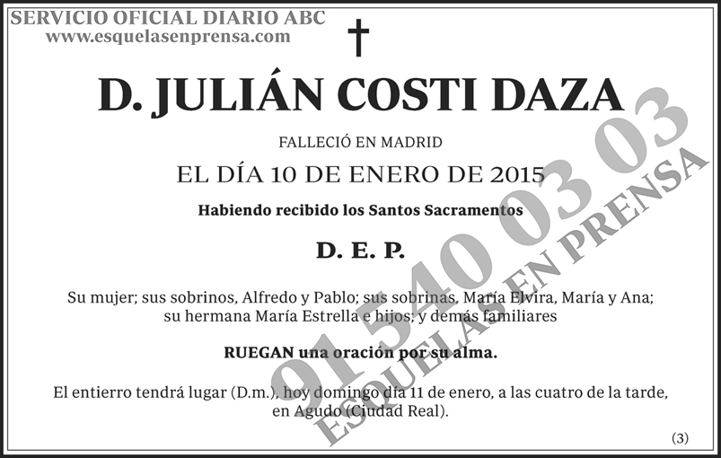 Julián Costi Daza